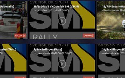 Så här följer du Rally-SM live