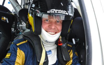 P-G och Anders värmer upp säsongen med asfalts-SM Drive VXO