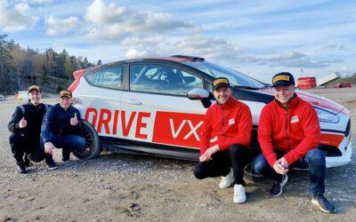 Svenska rallyeliten till DRIVE VXO Asfalts-SM