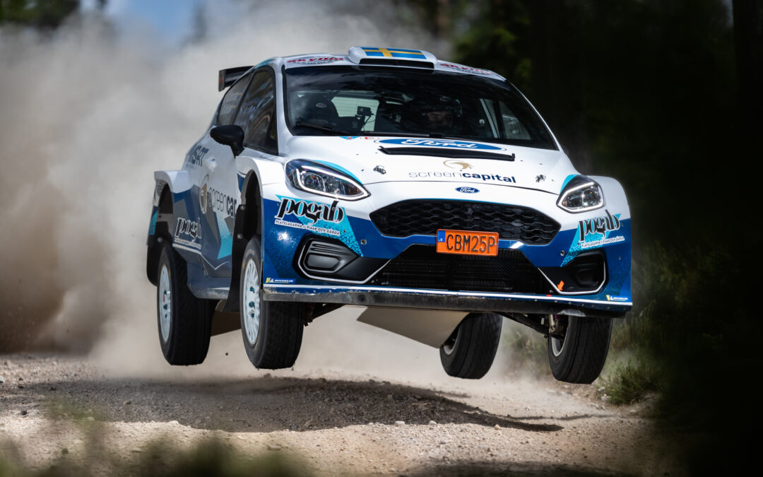 Mattias Adielsson startar i helgens Asfalts-SM i rally